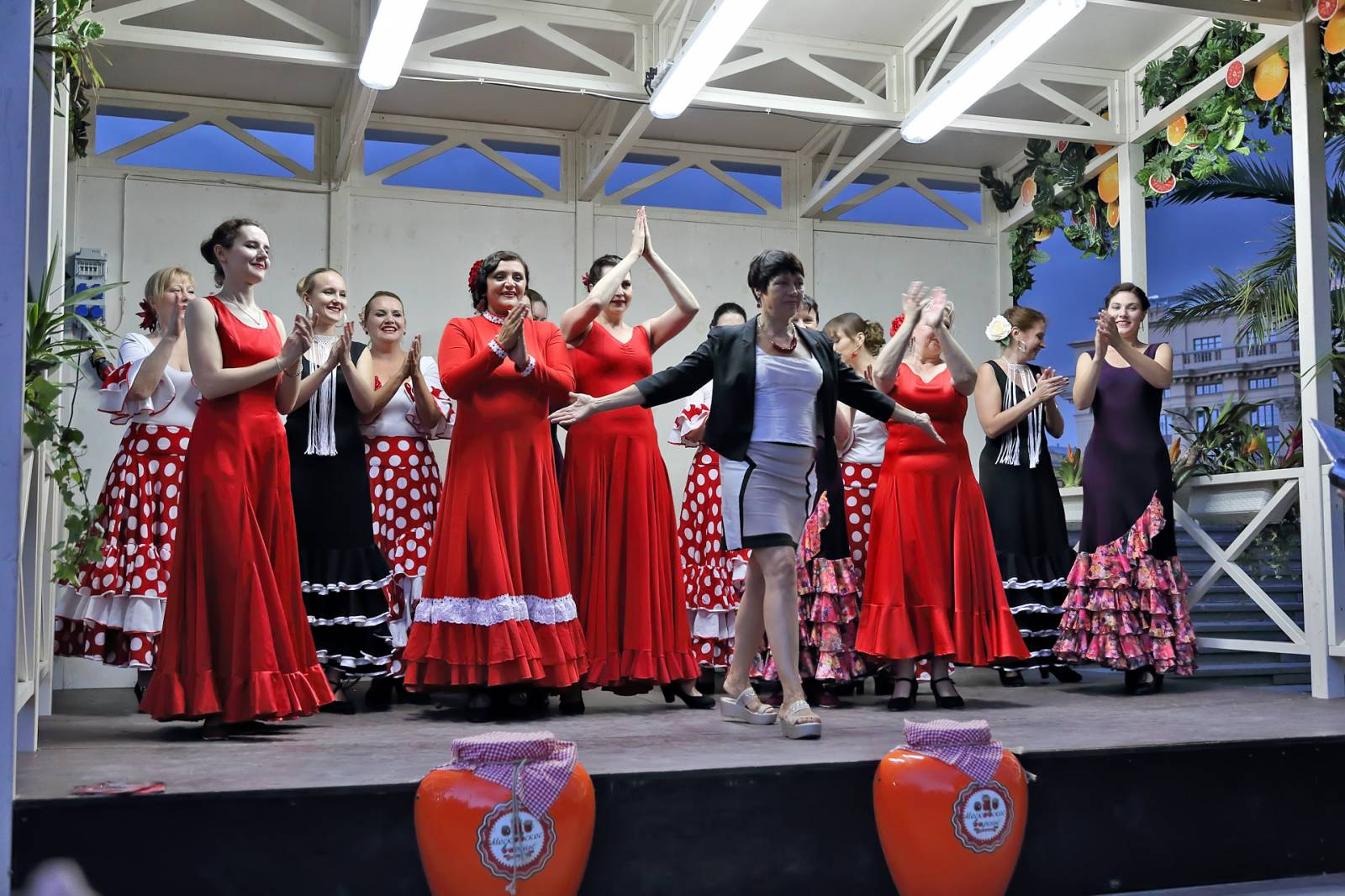 фламенко на фестивале московское варенье